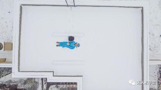 武汉用无人机在景区拍雪景,无人机坠落风险更大