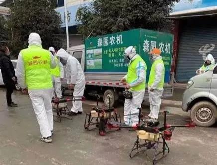 乐山市夹江县街道开展消杀工作,消杀效果获得当地居民的广泛认可