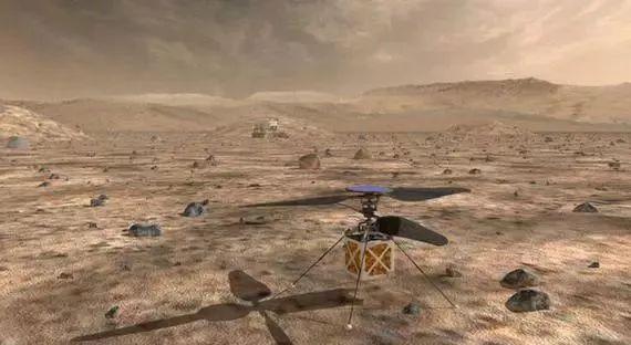 无人机上火星 ,真牛!