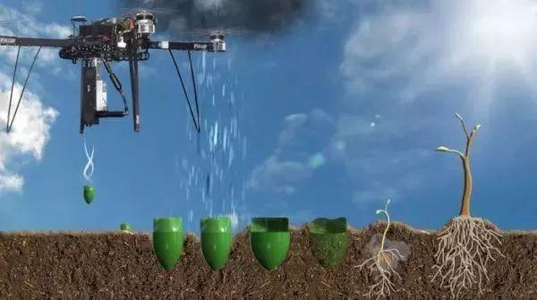 英国工程公司BioCarbon 与无人机制造商Parrot 合作研发自主种植树木系统