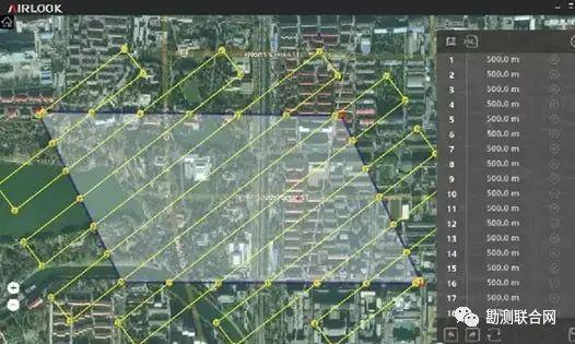 无人机的航线需要认真规划