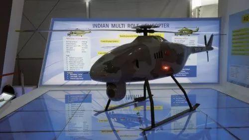印度斯坦航空公司推出新型无人直升机