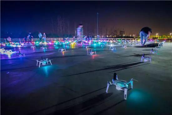 高巨零度千架无人机助阵2019少数民族运动会开幕式