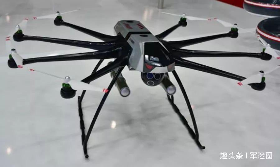 燃油发动机动力的多旋翼无人机
