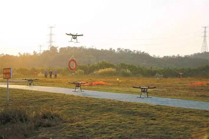 华南首个无人机测试场在龙岗正式启用