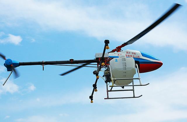 无人机属于高科技产品,和荣昌创建国家级农牧业高新区不谋而合