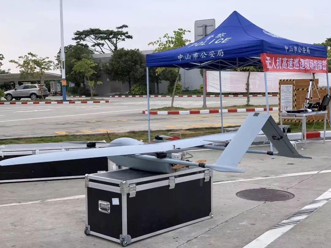 ZT-3V复合翼无人机用于广东省高速公路巡查