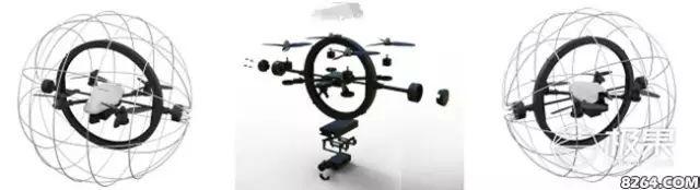 Droneball 采用的是双层结构