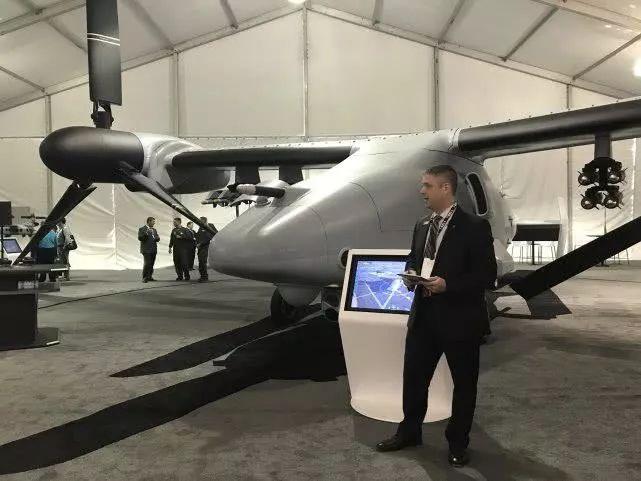 V-247无人机最大起飞重量超过13吨
