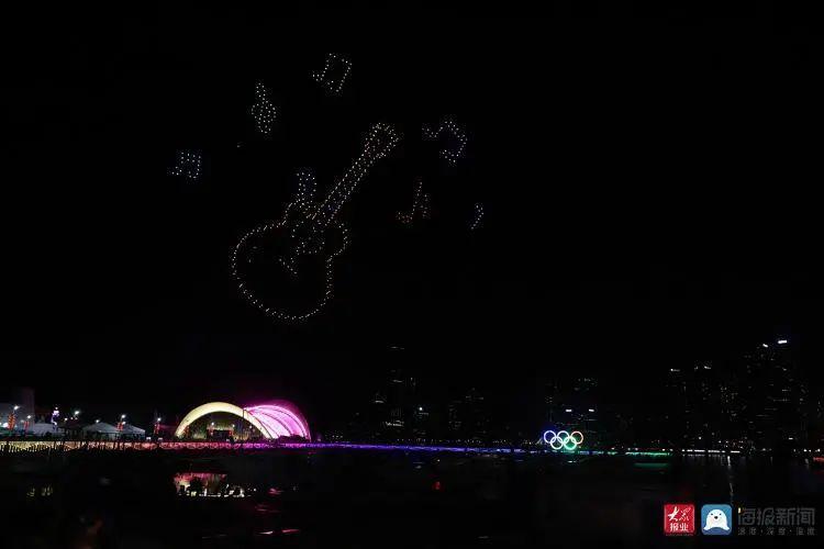 2020青岛创新节无人机灯光秀插图6