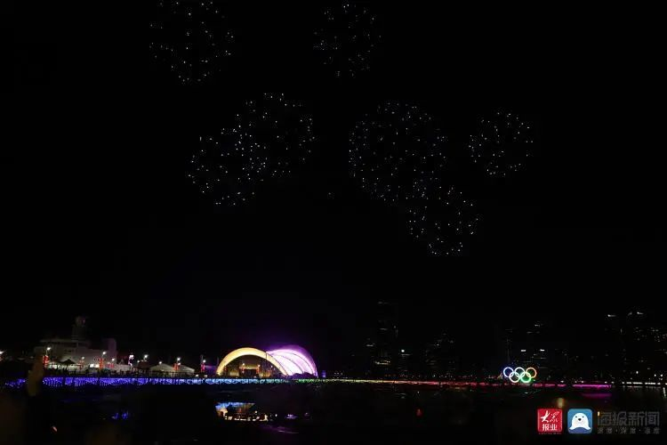 2020青岛创新节无人机灯光秀插图8