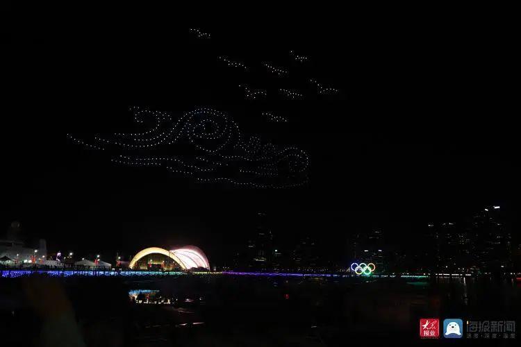 2020青岛创新节无人机灯光秀插图14