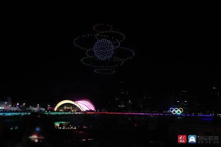 2020青岛创新节无人机灯光秀插图24