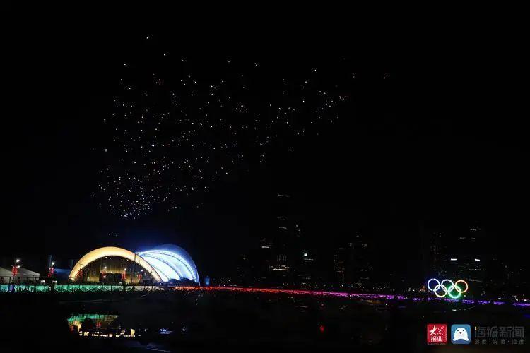 2020青岛创新节无人机灯光秀插图26