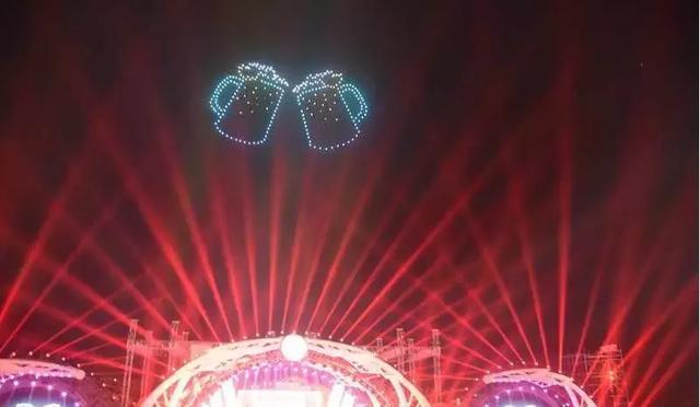 青岛300架无人机空中编队表演插图8
