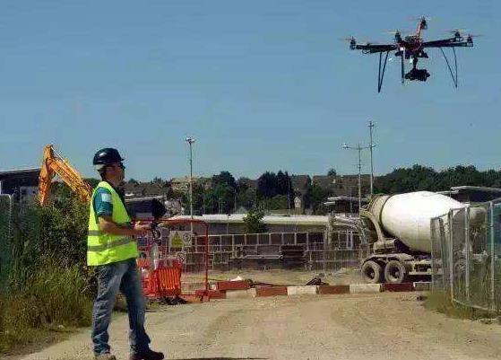 无人机在施工管理中的应用,无人机监工应用