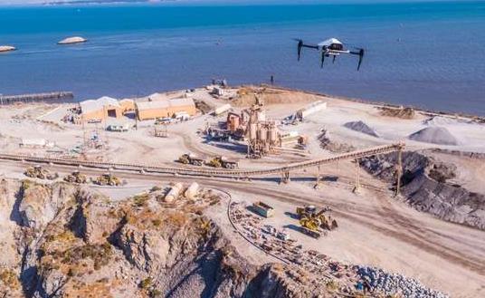 无人机在建筑施工现场管理应用的显著优势