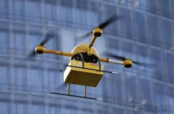 无人机快递技术的应用流程