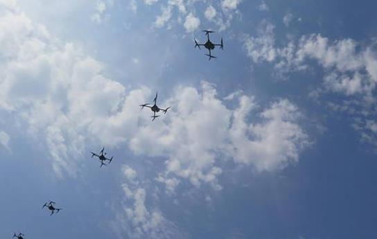 无人机编队和集群技术
