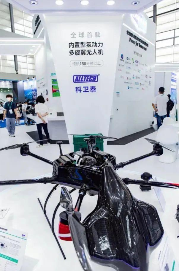 全球首款内置型氢动力六旋翼无人机
