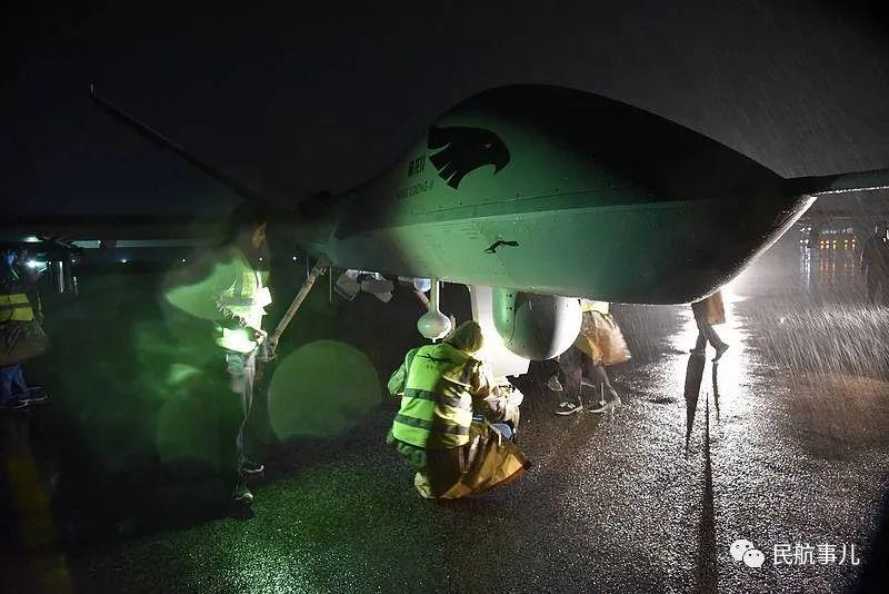 翼龙-2无人机全球首次大型无人机应急通信实战演练