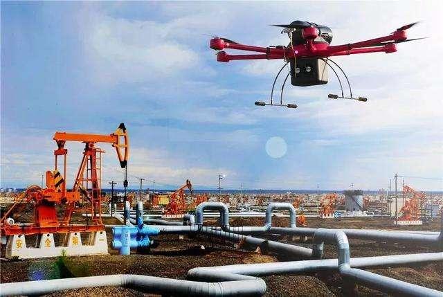 无人机+石油