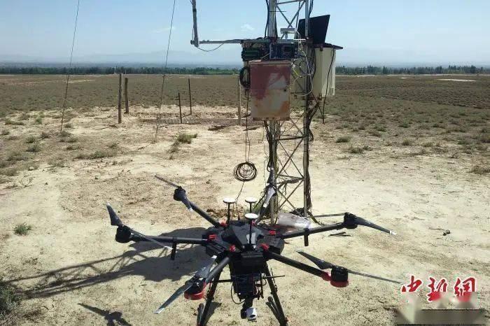 面向生态监测物联网的无人机中继系统