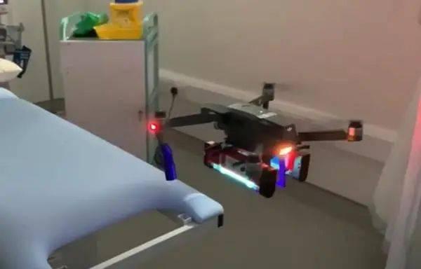 爱尔兰无人机照射紫外线消灭新冠病毒