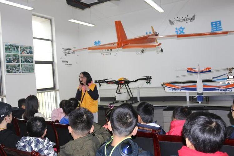 无人机冬令营-湖南株洲参观无人机基地