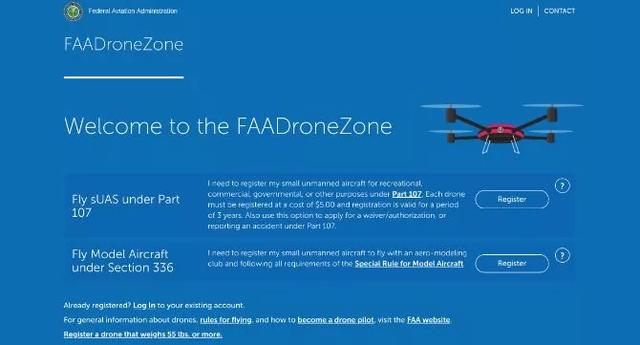 FAA休闲无人机执照