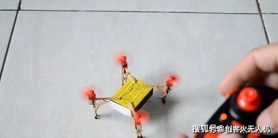 仅需八步教你自制可以起飞的火柴盒迷你无人机
