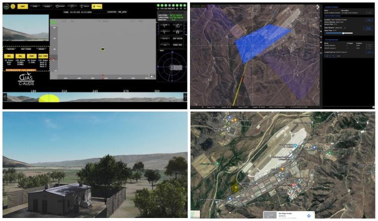 高拟真度反无人机系统模拟训练平台