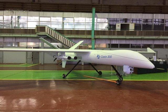 乌克兰展示Sokil-300新型侦察攻击无人机