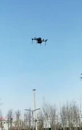 飞马D2000无人机原降落点悬停