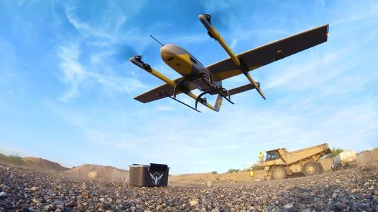 无人机用应用秦岭矿集区矿山地质环境调查工作中