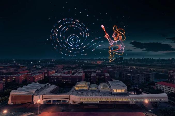一飞智控获得最长时长无人机表演的动画世界纪录插图34