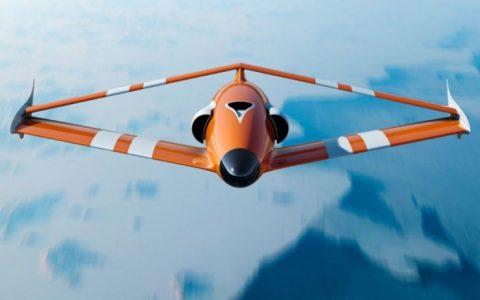 法国公司菱形机翼设计 FLY-R无人机