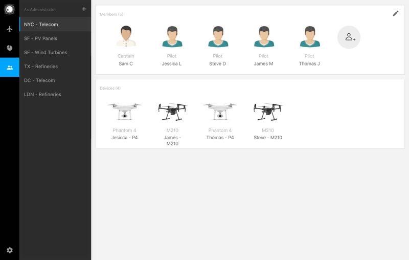 大疆又有新动作|无人机司空无人机综合在线管理平台发布