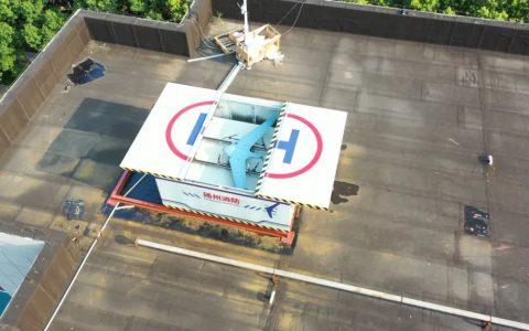 复亚智能智方G10复合翼自动机场扬州首飞,助力抗疫大显身手
